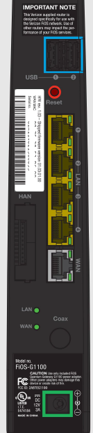 FIOS Quantam Router